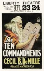Os dez Mandamentos - Versão 1923 - Rarissímo