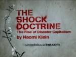 A Doutrina do Choque - A Ascensão do Capitalismo do Desastre