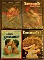 COLEÇÃO Emmanuelle - 4 DVDS
