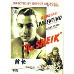 O Sheik - Rudolph Valentino -1921- Rarissímo